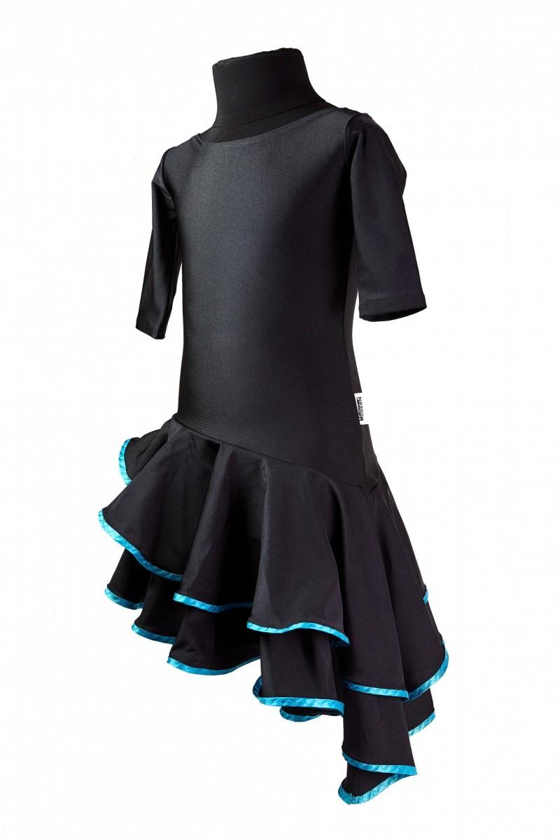 Платье тренировочное (2 волана)