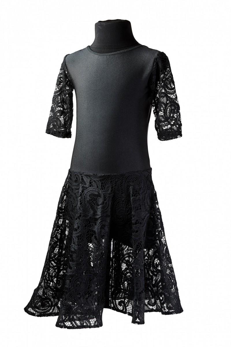 Платье тренировочное (гипюр)